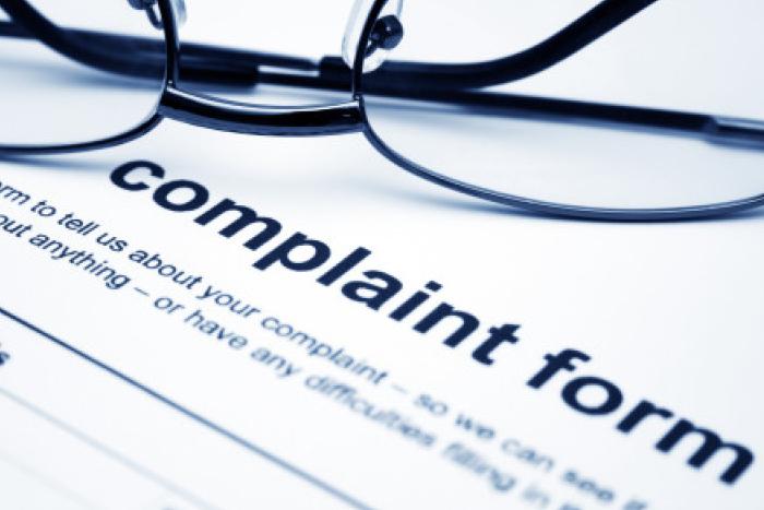 Stock complaint form image